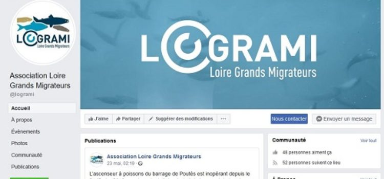 LOGRAMI rejoint facebook