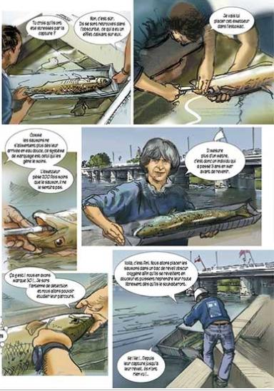 Extrait de la bande dessinée