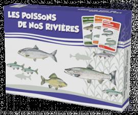 "Jeu de cartes ""Les poissons de nos rivières"""