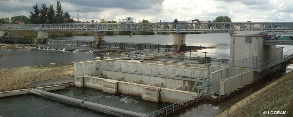 Barrage et centrale hydroélectrique de Roanne
